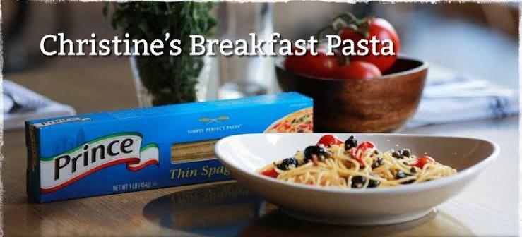 Celebrate Prince Spaghetti Day With Pasta For Breakfast Strange Daze Indeed