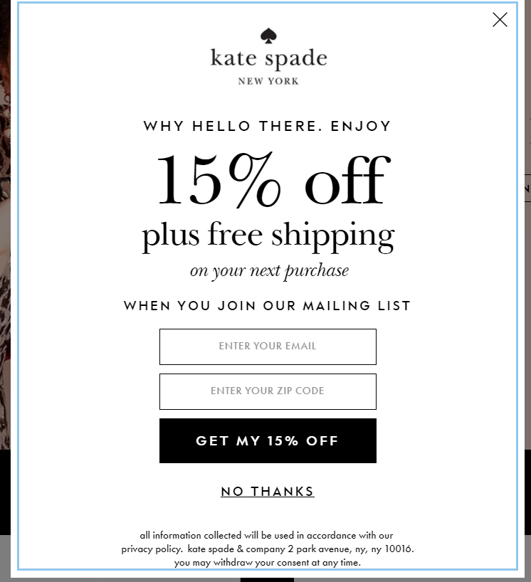 View Kate Spade Deals How to Use Coupons and Codes How to use Kate Spade promo codes: In your cart, look for the