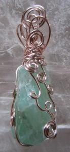 emerald calcite Amanda Self